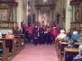 Charming Daisies - adventní koncert v kostele Všech svatých 19.12.2016