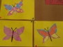 Motýli, čápi - 1.B