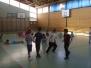 Tělocvik prvňáčků - hrajeme na pavouka a učíme se chytat...