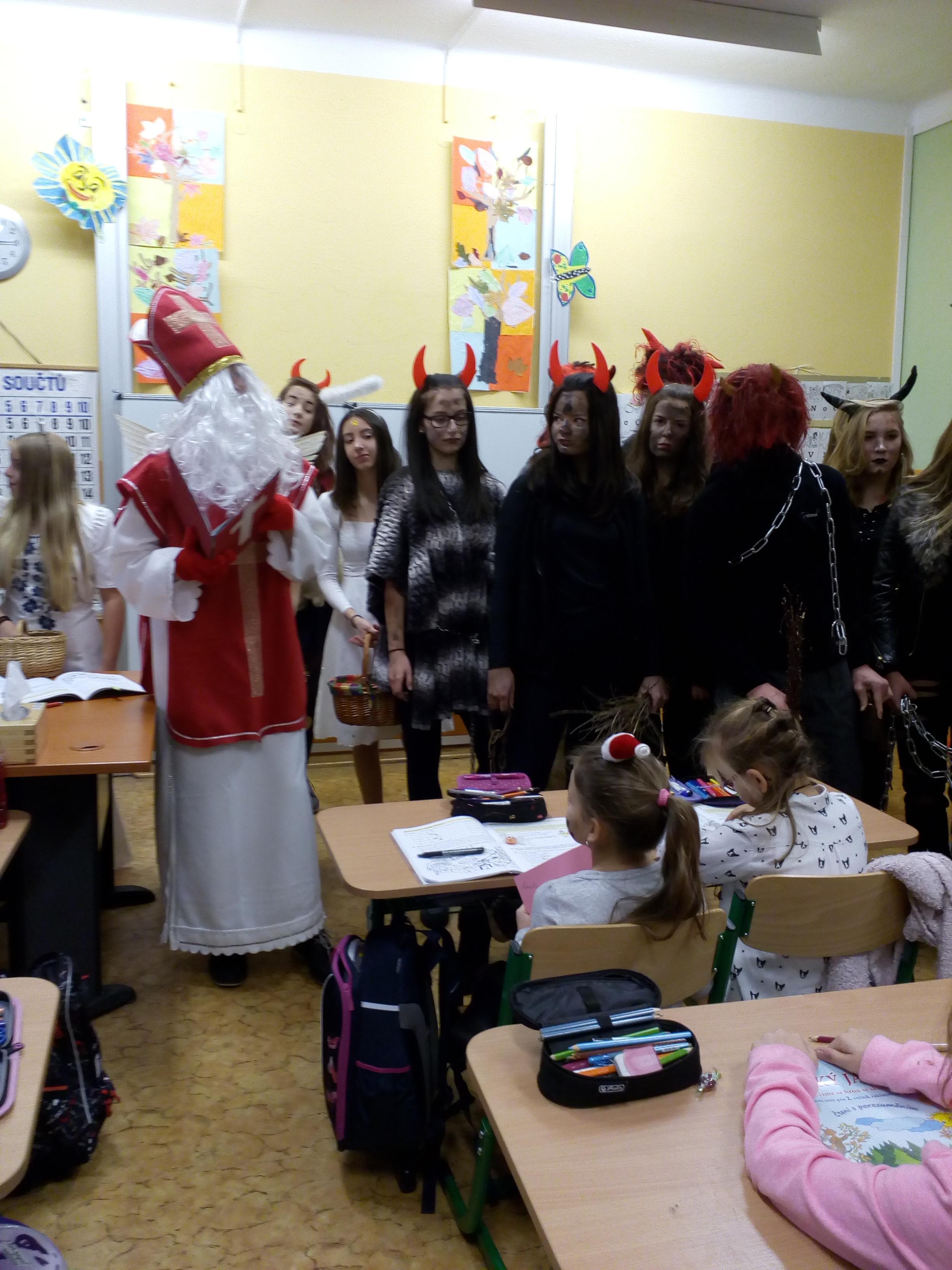 Mikulášská v ZŠ – 5.12.2017