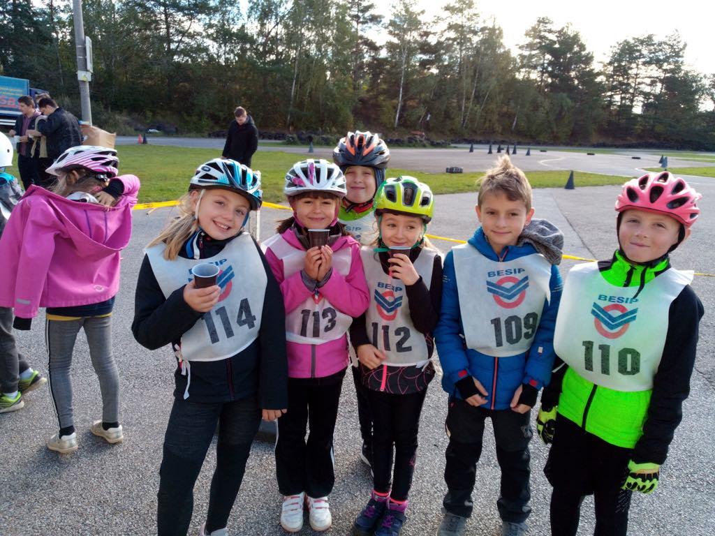 Dopravní soutěž cyklistů – 8.10.2019