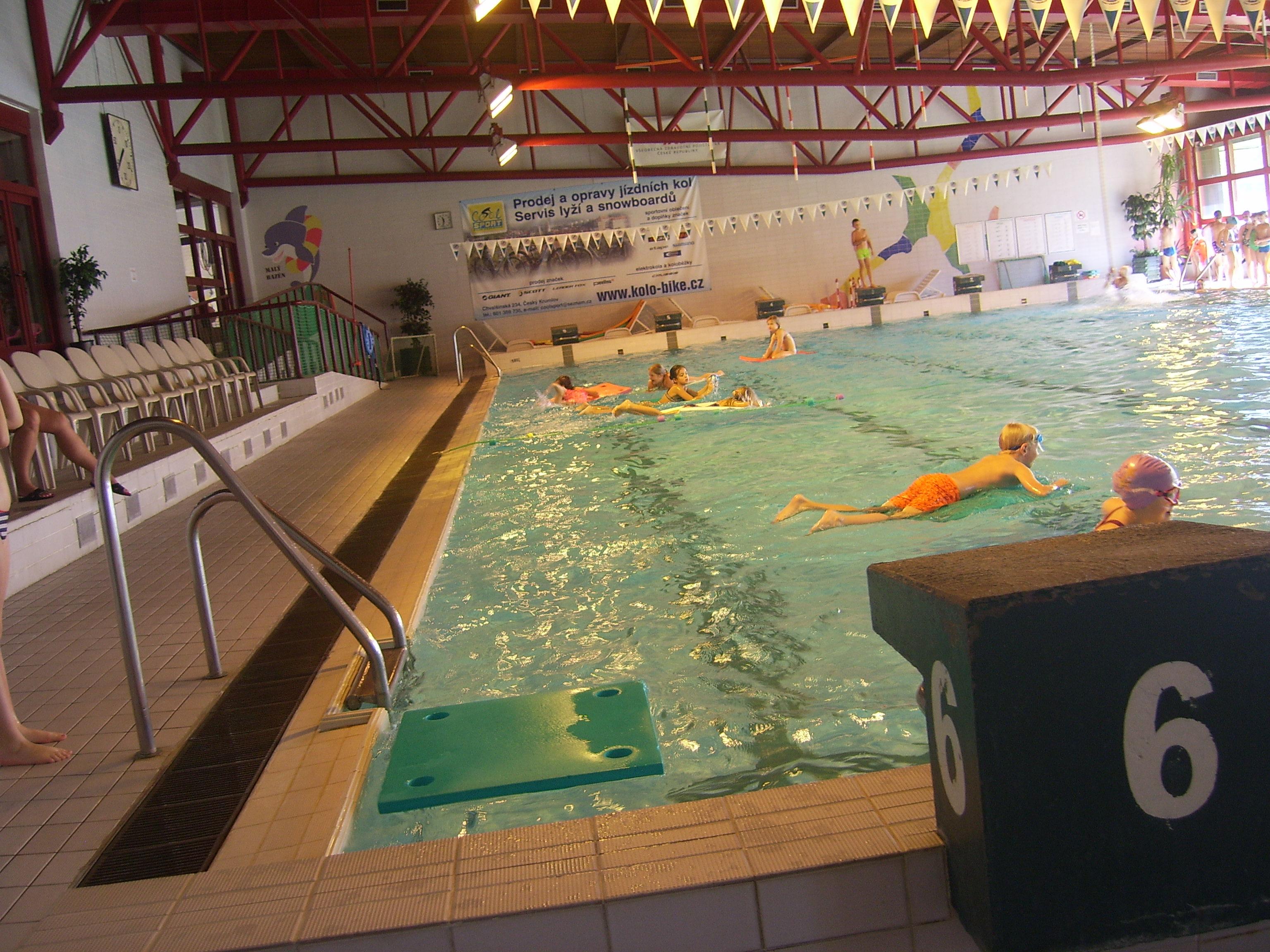 Plavecký výcvik 3. a 4. ročníků  (podzim 2019)